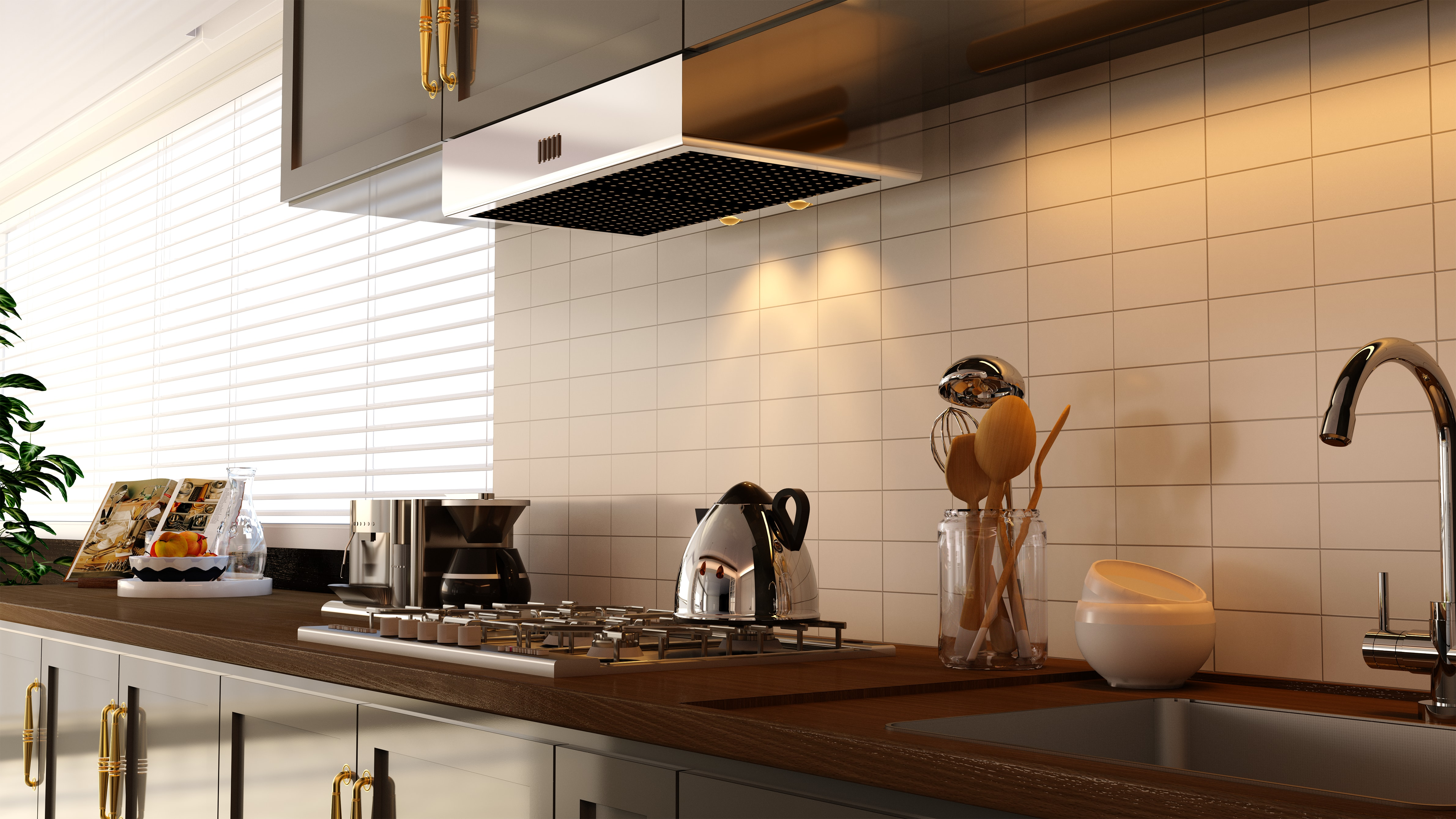 Unicorn Render Kitchen by Atalla