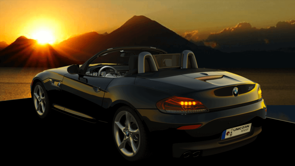 Automotive Unicorn Render